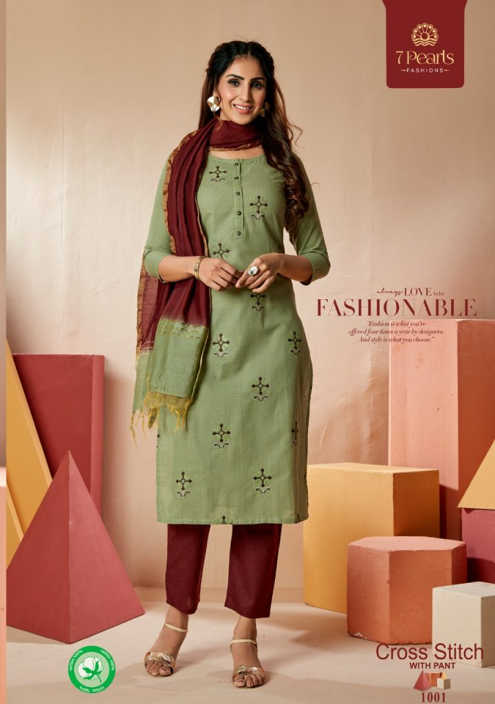 pearls cross stich catalog wholesale at pratham fashion
