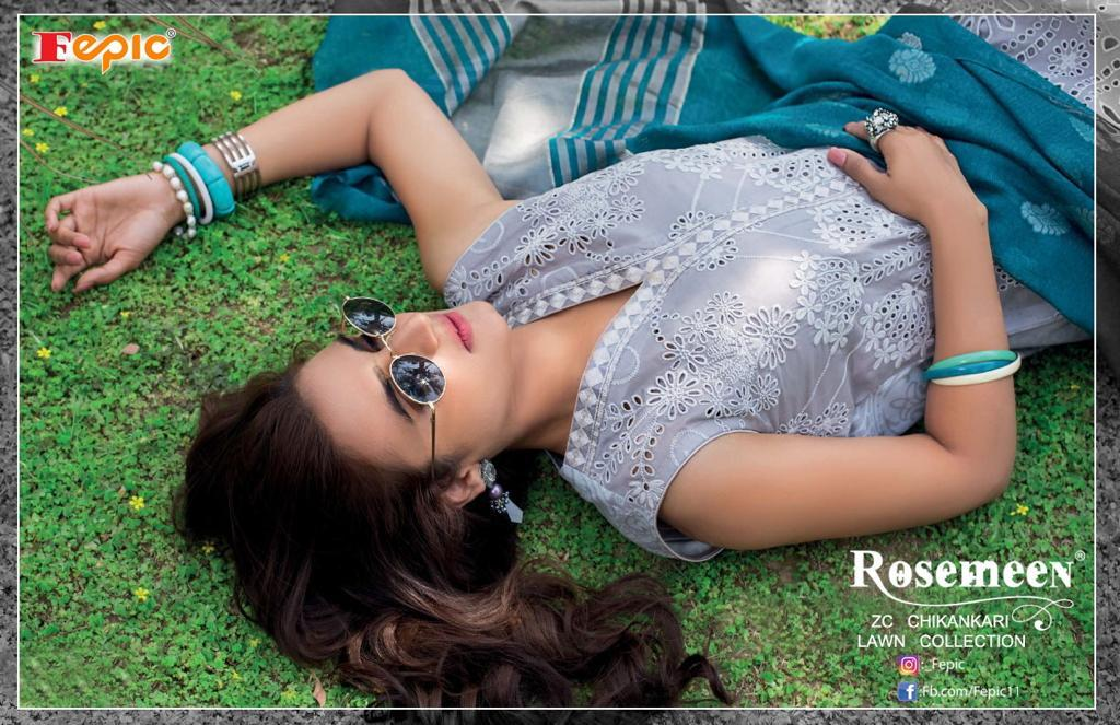 fepic zc chickenkari lawn collection wholesale suits at pratham fashion