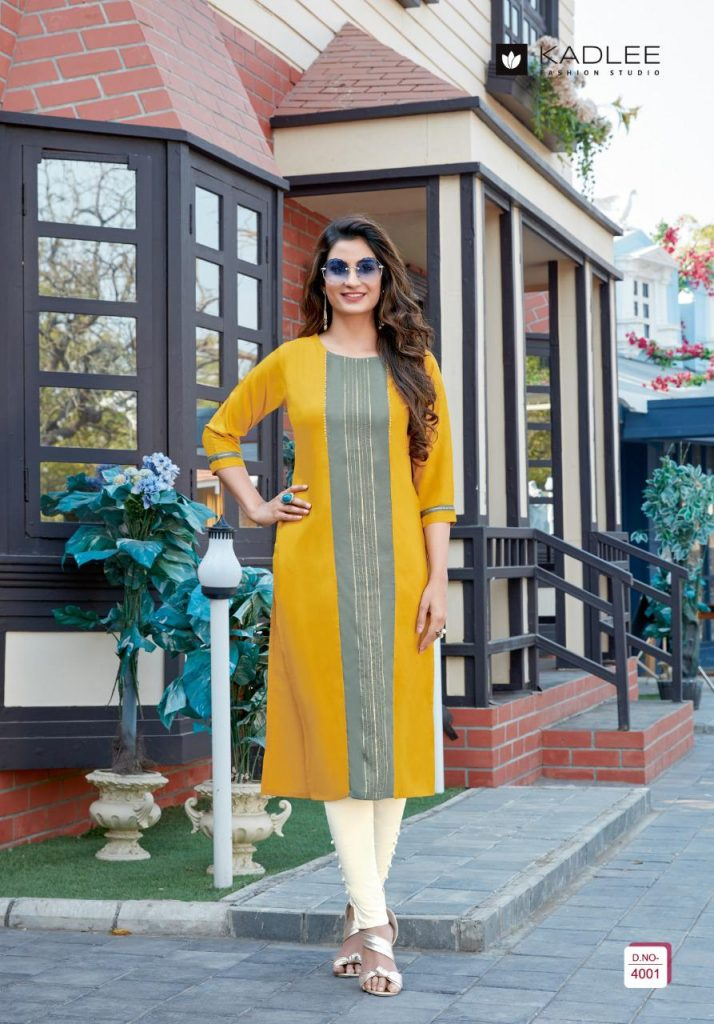 kadlee swara kurtis collection wholesale pratham fashion