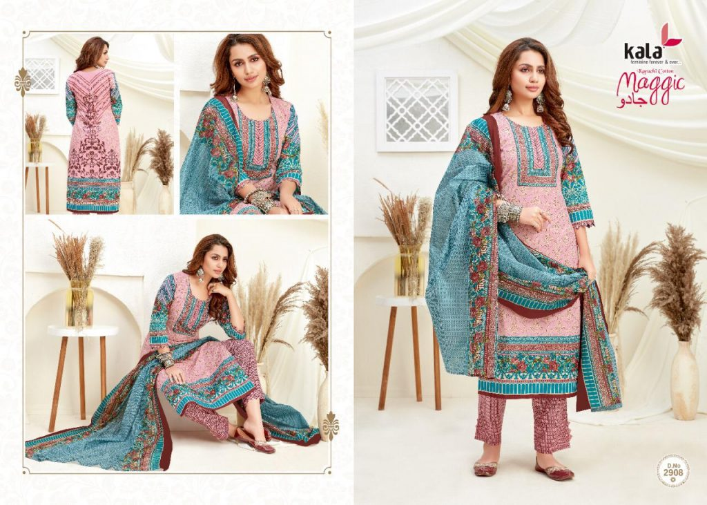 kala magic vol wholesale salwar kameez collection