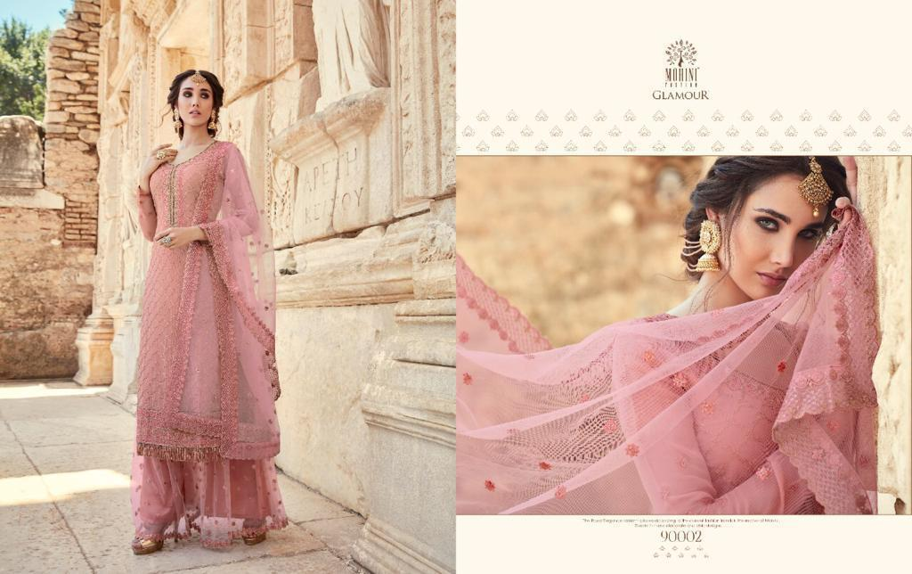 mohini fashion glamour vol series party wear suits pratham exports