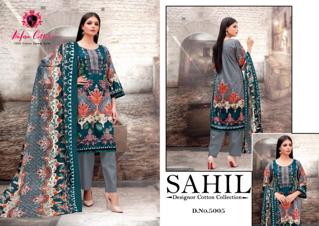 nafisa cotton sahil vol wholesale salwar kameez catalogue pratham fashion