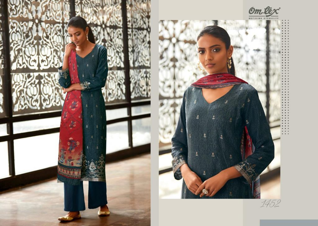 omtex ekani catalog wholesale price surat market pratham fashion