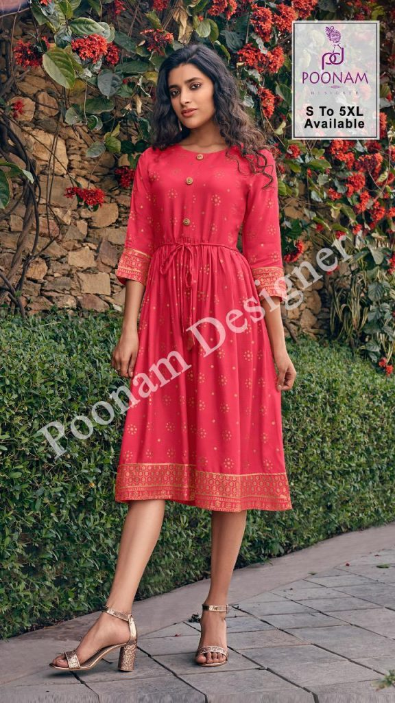 poonam designer forum kurtis catalog wholesale price at pratham fashion