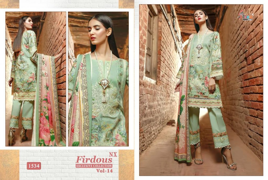 shree fabs firdous exclusive collection vol nx wholesale catalog at pratham exports