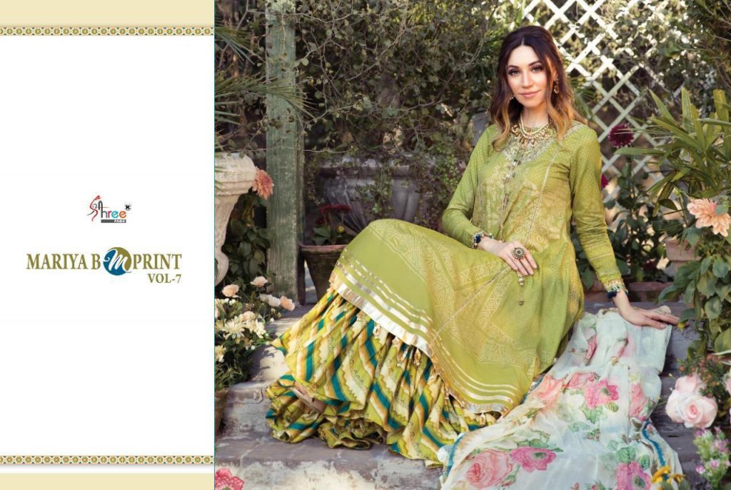 shree fabs mariyab mprint vol catalogue online pratham fashion