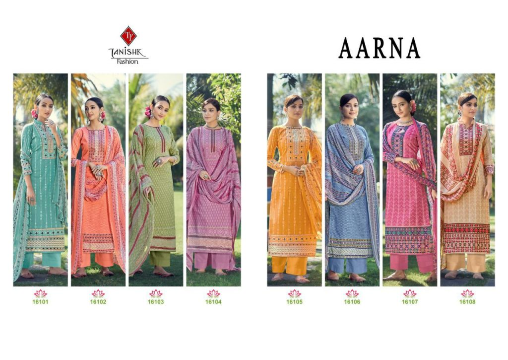 tanishk fashion aarna series salwar kameez pratham fashion