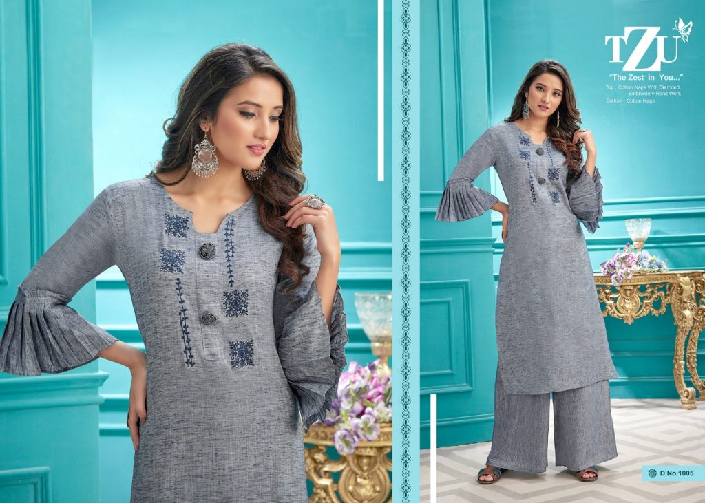 tzu rangrez kurtis collection wholesale price surat