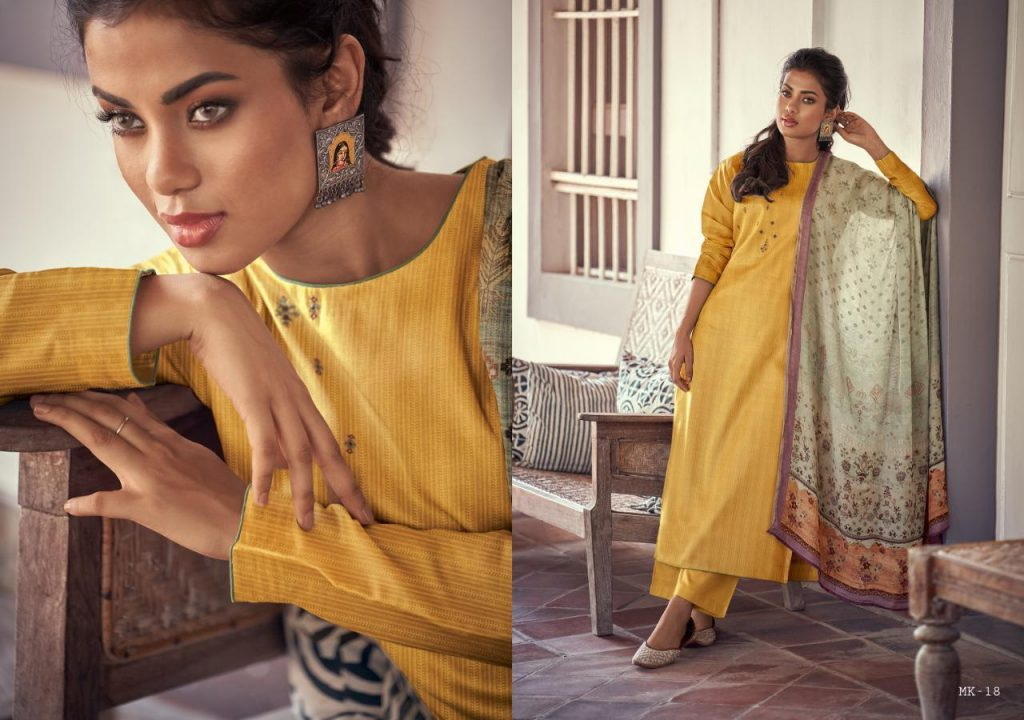 varsha fashion moksha catalog wholeale at pratham fashion